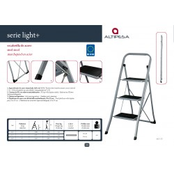 ESCALERA ACERO LIGHT
