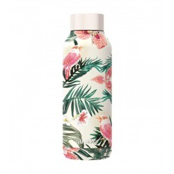 BOTELLAS ACERO SOLID JUNGLE FLORA 510 ML.